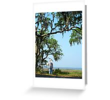 Jeckyl Island Painter Greeting Card