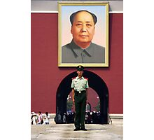 Mao portrait - China Photographic Print