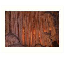 Postojna Cave in Slovenia Art Print