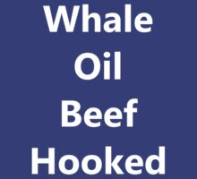 Whale Oil Beef Hooked (Well I'll Be F**ked) by LeeLahiffe