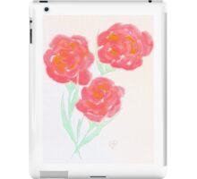 Pastel Pink flowers by Amber Feng Shui Art iPad Case/Skin