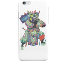 china warrior 3 iPhone Case/Skin