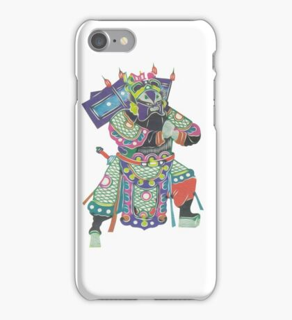 china warrior 3 iPhone Case/Skin