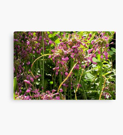 Painterly garden Canvas Print