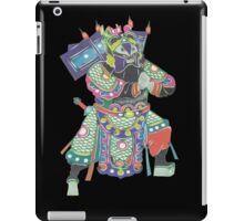 china warrior 3 black iPad Case/Skin