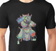 china warrior 3 black Unisex T-Shirt
