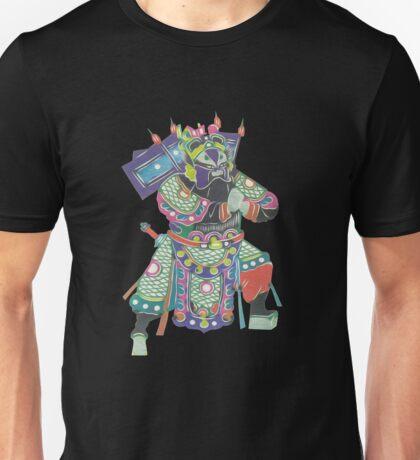 china warrior 3 black Unisex T-Shirt