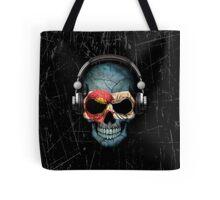 Dj Skull with Colorado Flag Tote Bag