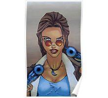 Lara Croft 1997 - By Ed Diver Poster