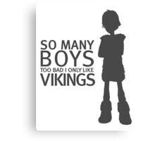 HTTYD - Viking (Black Print) Canvas Print