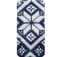 Retro Nordic Jersey Pattern iPhone Case/Skin