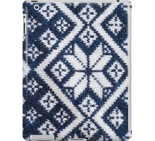 Retro Nordic Jersey Pattern iPad Case/Skin