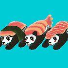 Panda Sushi by tobiasfonseca