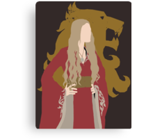 The Queen Regent [w/ Sigil translucent] - Minimalist Design Canvas Print