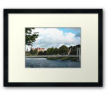The Infirmary Bridge Framed Print