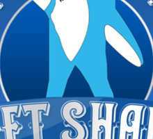 Left Shark MVP - Super Bowl Halftime Shark 2015 Sticker