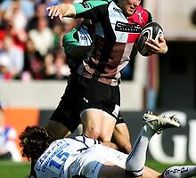 Harlequins Vs Bristol by Mark Greenwood