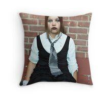 Puppet Four Throw Pillow