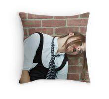Puppet Five Throw Pillow