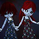 Gothic Rag Dolls by Alexander Butler