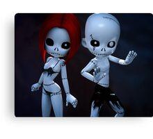 Rag Dolls Couple Canvas Print