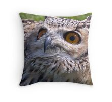 Waiting for lunch. Throw Pillow