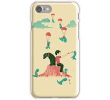 Tiny T-Rex Invasion iPhone Case/Skin