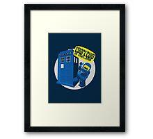 Spaceship ! Framed Print