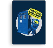 Spaceship ! Canvas Print