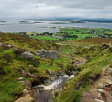 Pilgrimage up Croagh Patrick, Ireland by Janet Houlihan