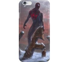 The Web swinger iPhone Case/Skin