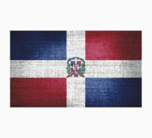 Dominican Republic Flag by Nhan Ngo