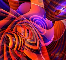 Amore Abstract by Alexander Butler