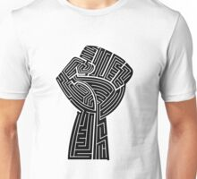 ML Power Fist White/Black Unisex T-Shirt