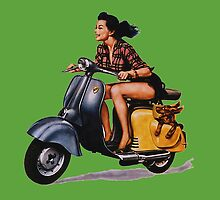 Vespa by borines