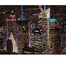 new york at night Photographic Print