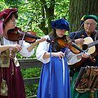 Renaissance Musicians by Janelle Austin