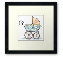 Baby carriage Framed Print