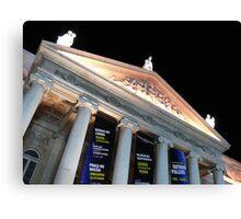 D.Maria Theatre.Rossio. LISBON Canvas Print