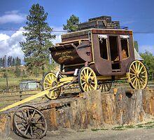 Prairie Stagecoach by PrairieRose
