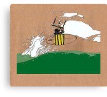Kitesurfing #1 Canvas Print