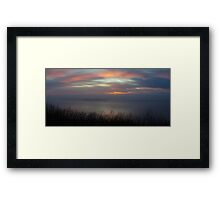 bay panorama Framed Print