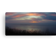 bay panorama Canvas Print