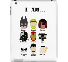 I am... iPad Case/Skin