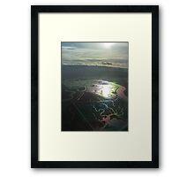 bay palette Framed Print