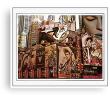 billboard ny Canvas Print