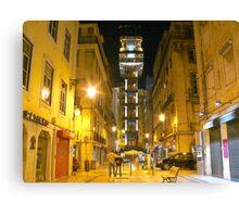 Sta. Justa.Lisbon Canvas Print
