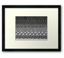 Geometric Framed Print