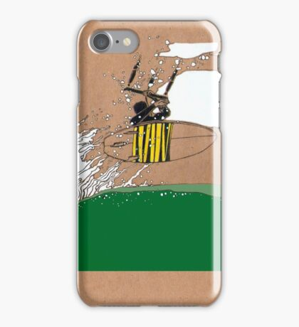 Kitesurfing #1 iPhone Case/Skin
