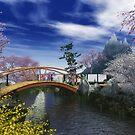 Japanese garden 3 by Annika Strömgren